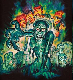 Return of the Living Dead art be Graham Humphreys